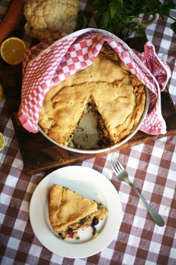 Maltese food Lampuki pie